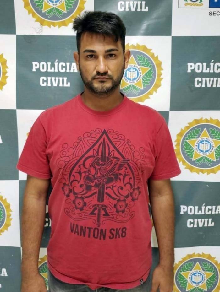 Alex Ferreira de Souza foi preso quatro horas depois de te praticado o crime
