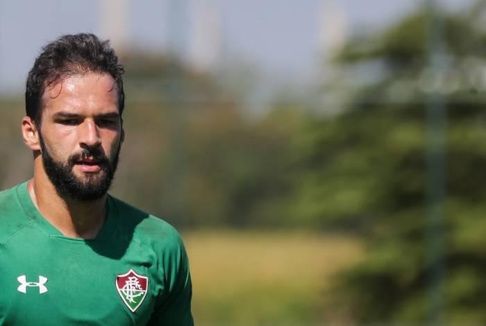 Muriel, goleiro do Fluminense