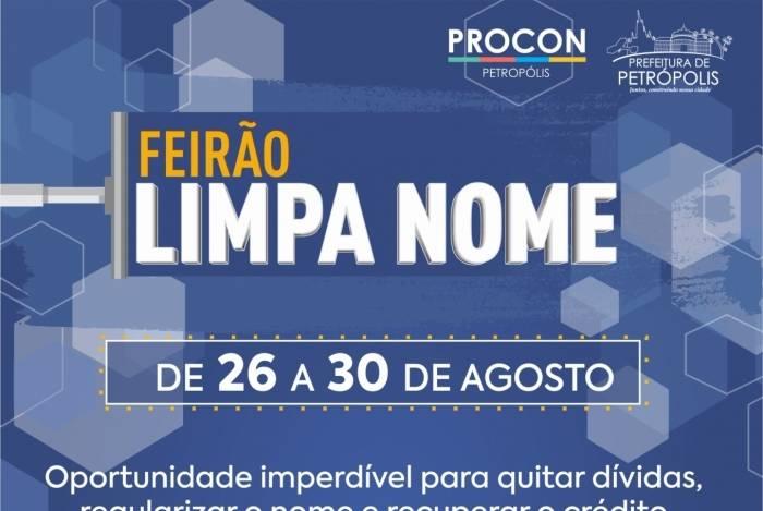 Feirão Limpa Nome Petrópolis