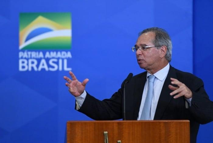 Ministro da Economia, Paulo Guedes, defendeu criação de imposto igual à CPMF