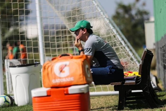 Fernando Diniz tenta fazer o Fluminense embalar de vez no Brasileiro