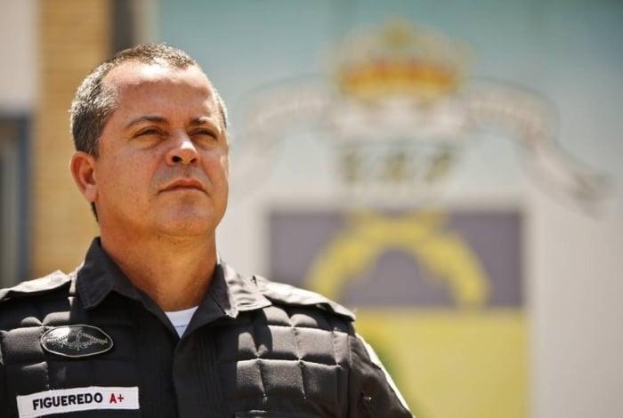 O secretário Rogério Figueredo