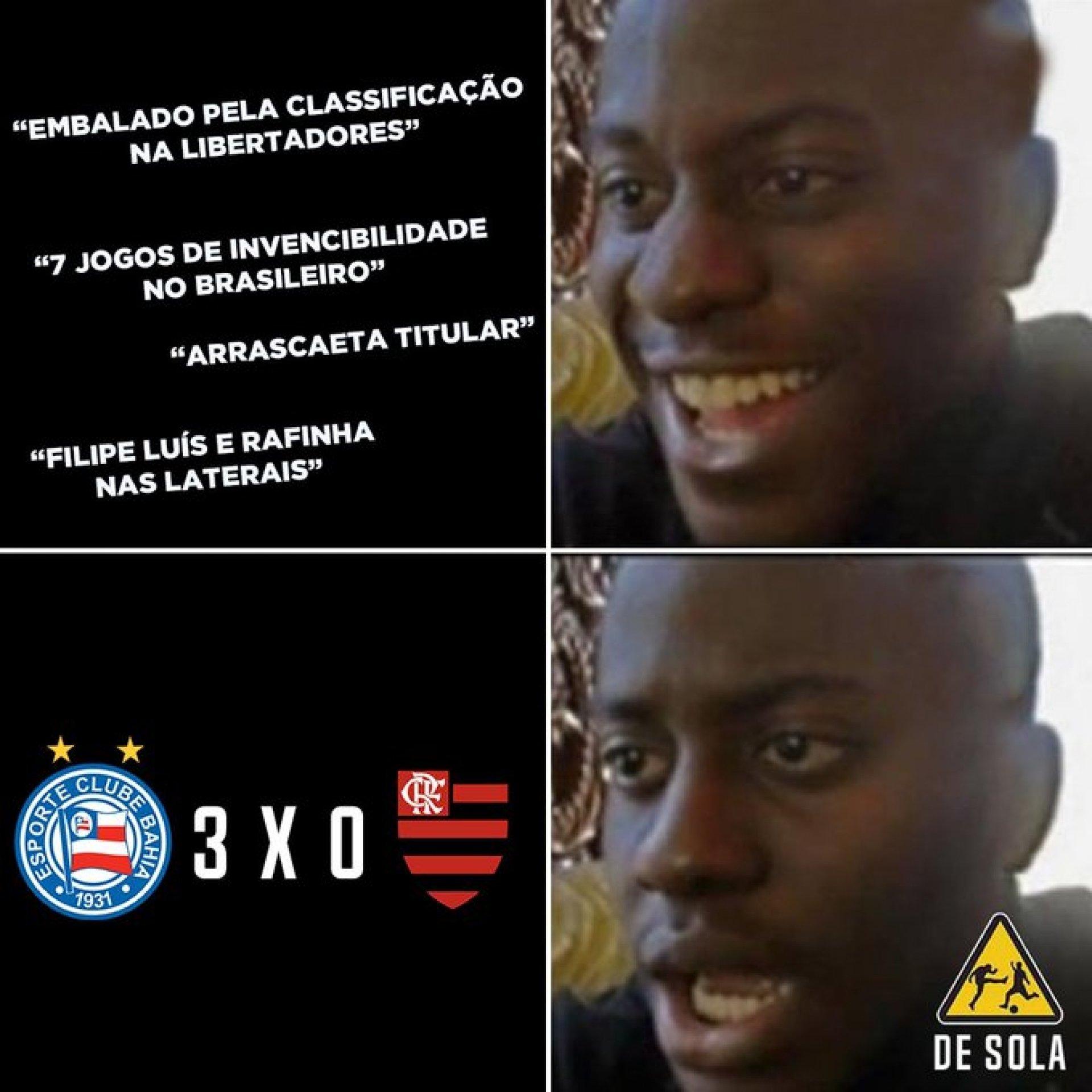 Derrota Do Flamengo Para O Bahia E Falha De Diego Alves