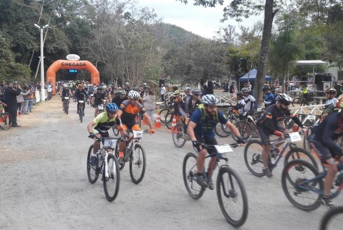 Competição de MTB fez parte do programa Agita Petrópolis