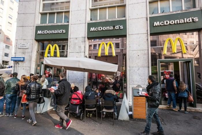 A Itália proibiu a rede de fast-food McDonald's de abrir uma unidade ao lado dos Banhos de Caracalla