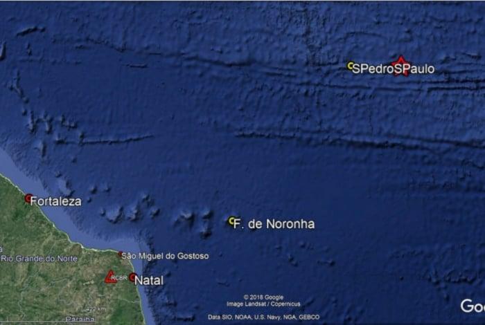 Terremoto e registrado na costa do Nordeste