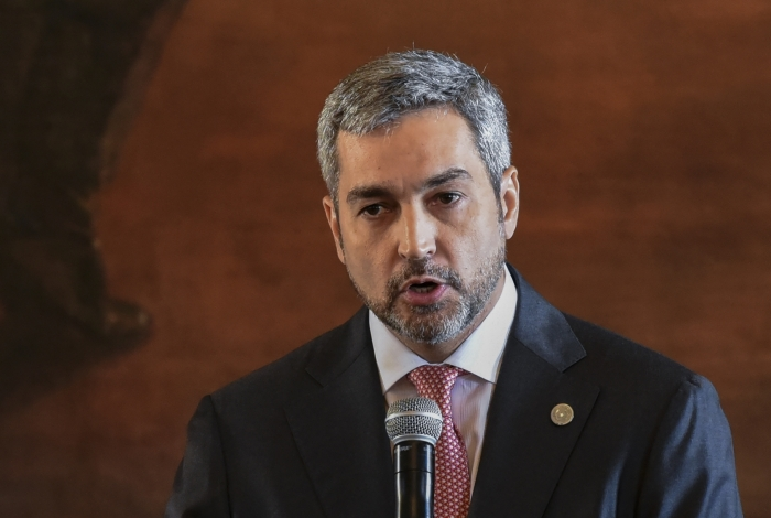 Presidente do Paraguai, Mario Abdo Benitez