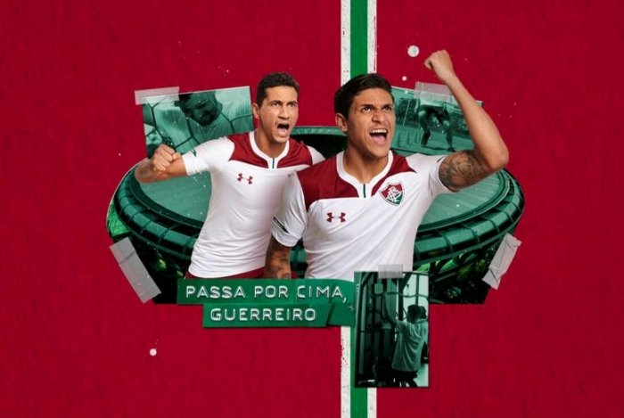 Nova camisa reserva do Fluminense