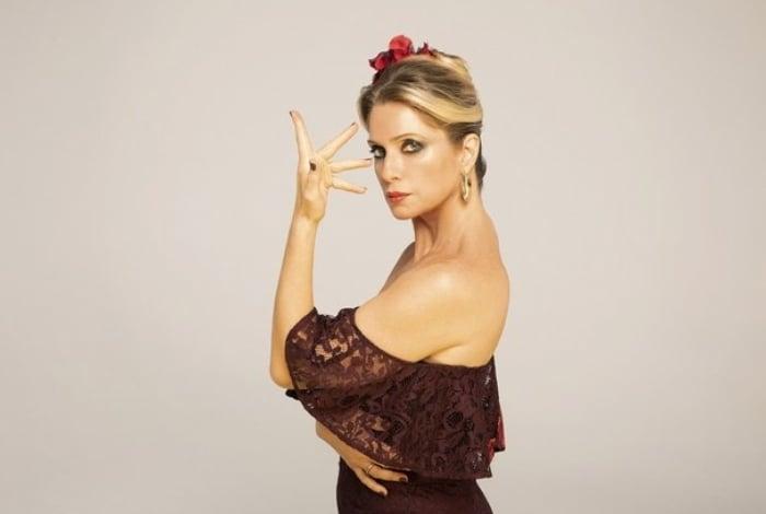 Letícia Spiller em 'Zorro - Nasce Uma Estrela'