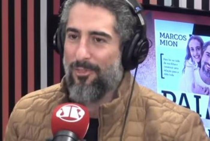Marcos Mion, apresentador da Record TV, se negou a dar detalhes