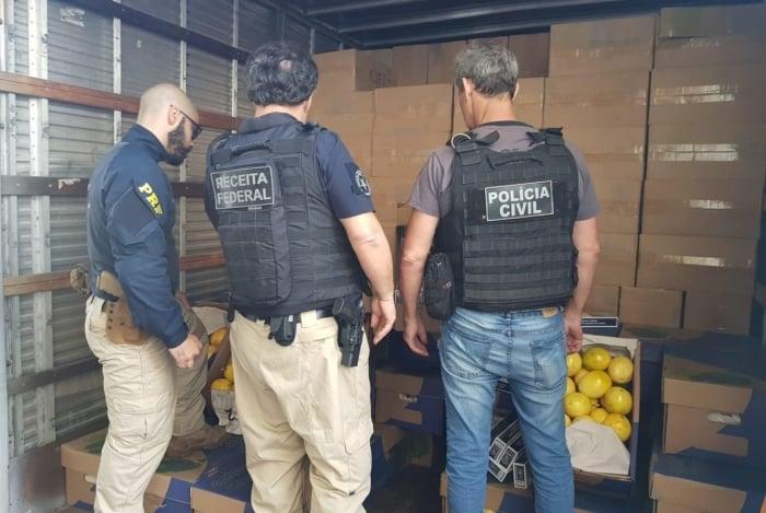 Mais de 270 mil maços foram encontrados em ação conjunta