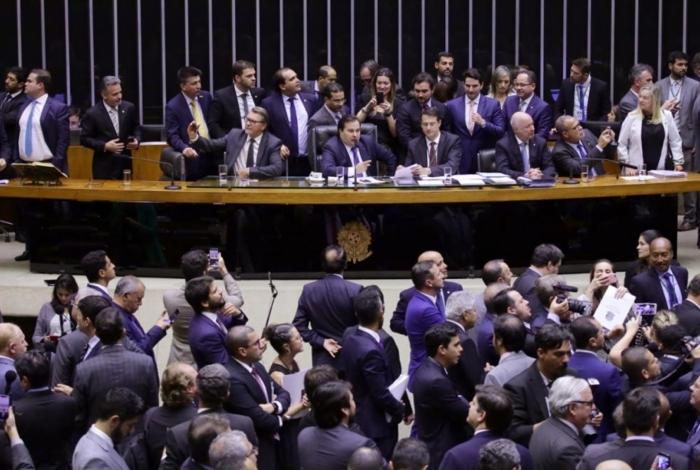Deputados acompanham votação do projeto da Reforma da Previdência