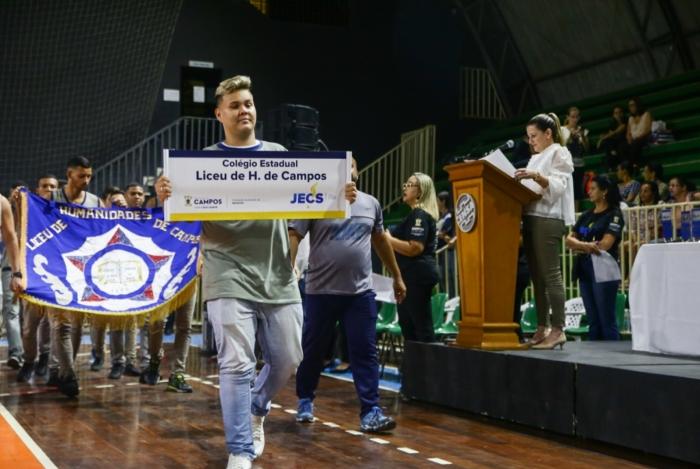 Em sua terceira edição desde a retomada, os Jogos Estudantis de Campos atingem a marca de 5 mil alunos atletas de 70 escolas da rede pública e privada