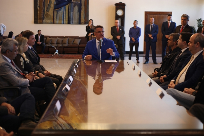 Presidente do TJRJ, Claudio de Mello Tavares, assinou convênio com onze prefeitos para agilizar cobrança de dívida ativa