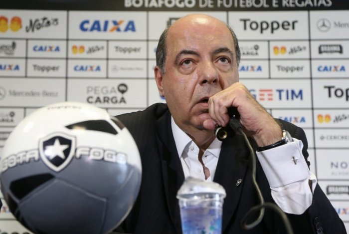 Presidente do Botafogo Mufarrej