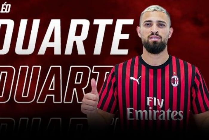 Léo tem contrato de cinco temporadas
