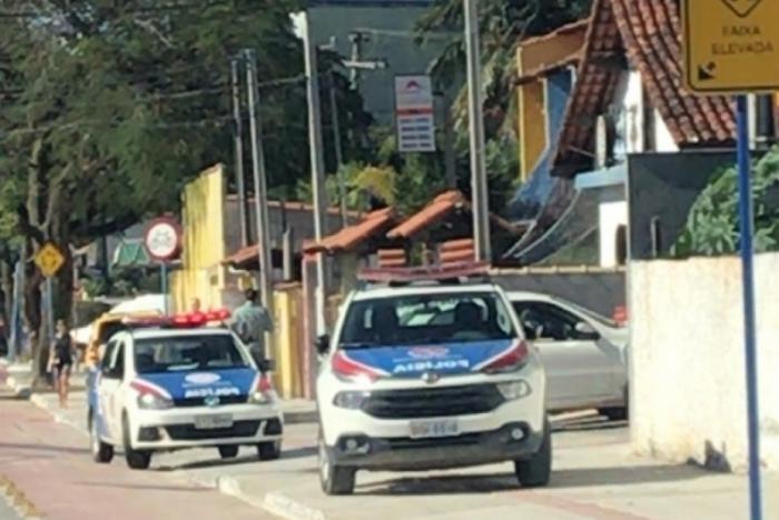 A Polícia Militar foi acionada e conduziu para a 82ª DP (Maricá)