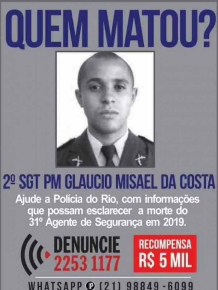Disque-Denúncia está atrás de criminosos que teriam matado sargento da PM nesta quinta-feira