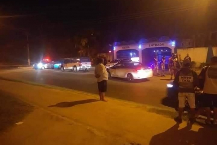 Homem morreu quando saía do Motel Palazzo, em Bangu