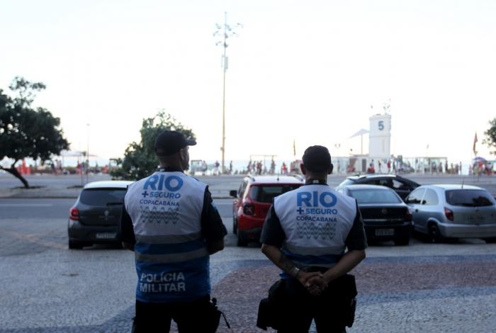 Agentes em Copacabana