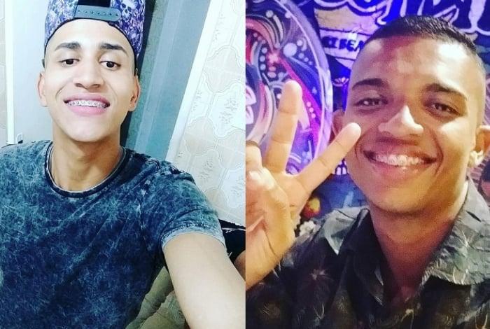 Tiago Freitas e Lucas Monteiro, mortos a tiros em uma festa em Água Santa, na Zona Norte