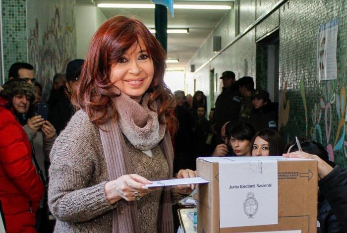 Cristina Kirchner foi presidente da Argentina de 2007 a 2015