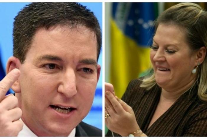 Joice Hasselmann responde ataque de Glenn Greenwald: 'Um mentiroso'