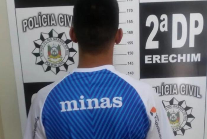 Suspeito de assassinato de Douglas Nunes é preso, em Erechim