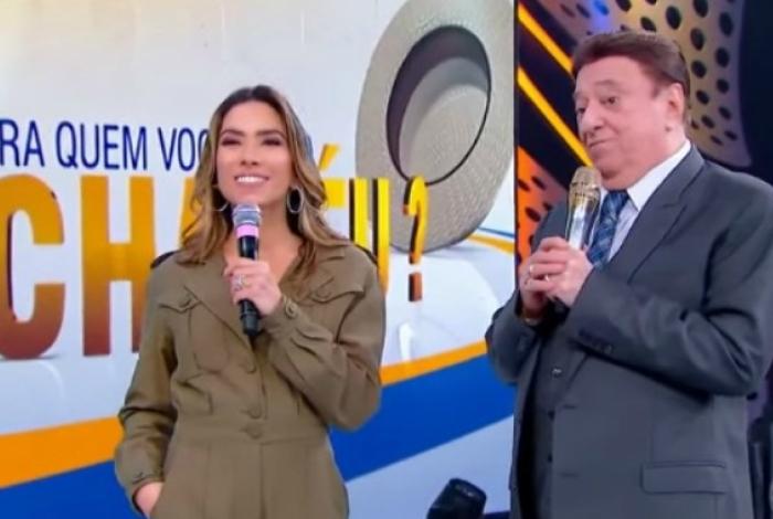 Patrícia Abravanel foi uma das convidadas do 'Programa Raul Gil'