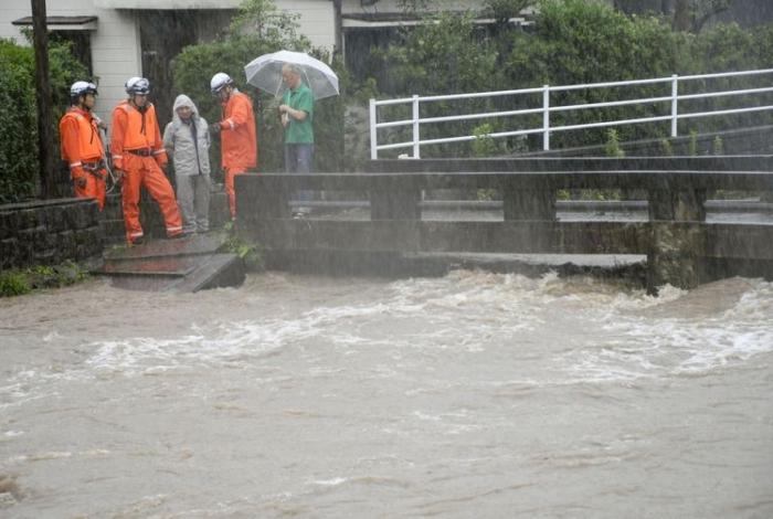 Chuvas e ventos fortes podem atingir o Japão nas próximas horas