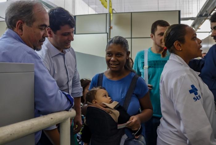 Prefeito Bernardo Rossi visitou o PSF