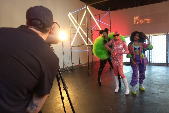 Gloria Groove, Drik Barbosa e MC Dora