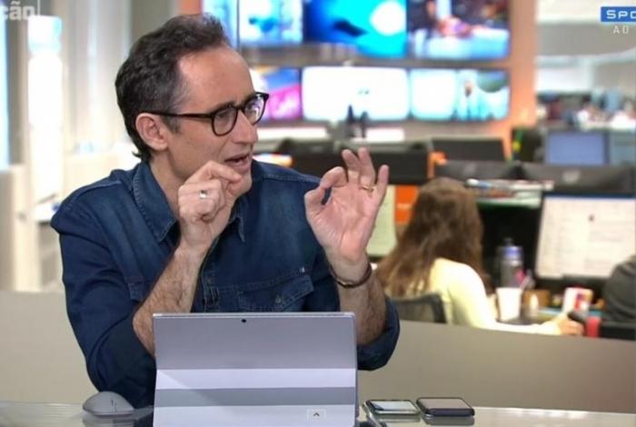 Marcelo Barreto apresenta o 'Redação SporTV'