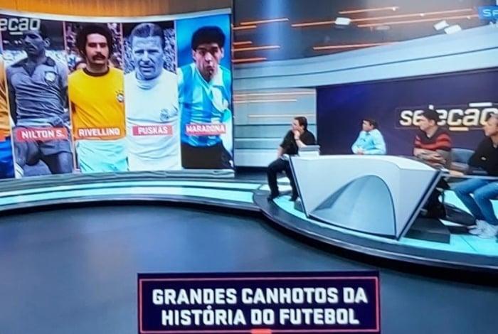 SporTV homenageia o destro Nilton Santos no Dia Mundial do Canhoto