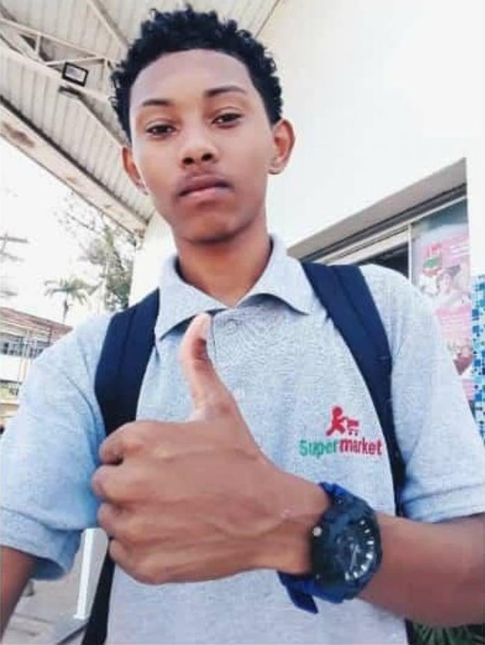 Henrico de Jesus Viegas de Menezes Júnior, 19 anos, trabalhava em supermercado, segundo a família