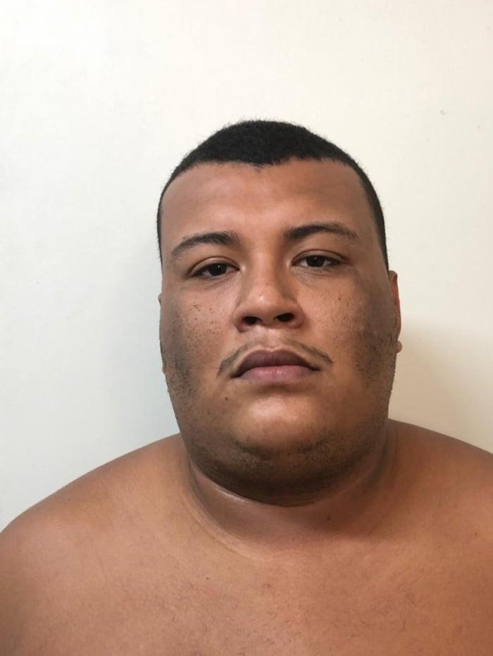 Lucas Santos Campos, conhecido como gordo, de 29 anos, foi capturado em Cascadura