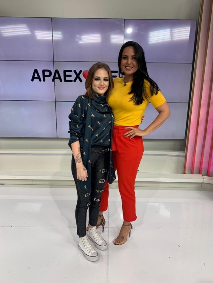 Brenda Sabrina e Gardênia Cavalcanti