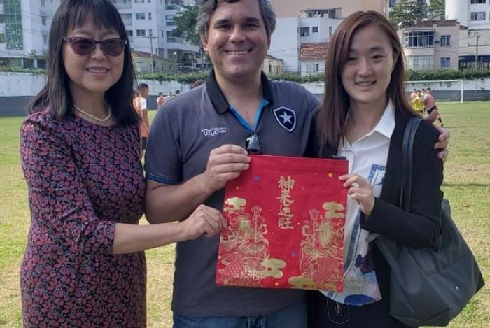 Representantes da China visitaram General Severiano e o Caio Martins
