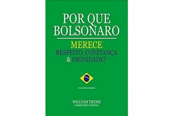 Livro com razões para respeitar e confiar em Bolsonaro tem apenas duas páginas escritas e 188 páginas em branco