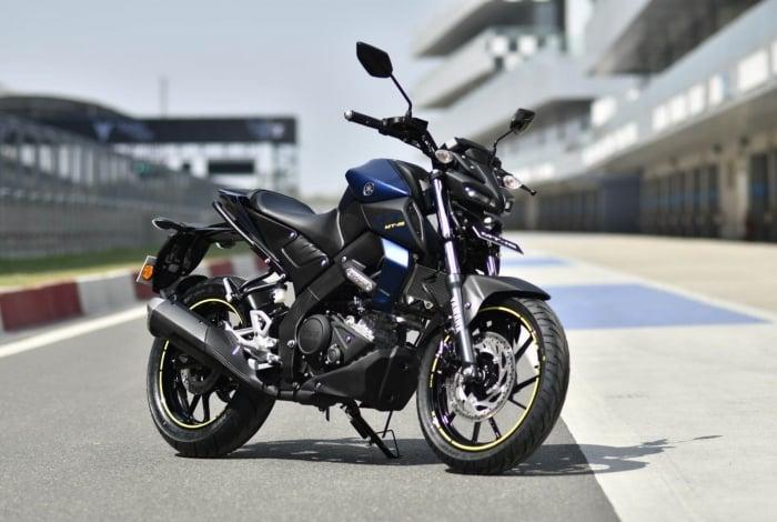 A MT-15 da Yamaha  é vendida no mercado europeu e asiático