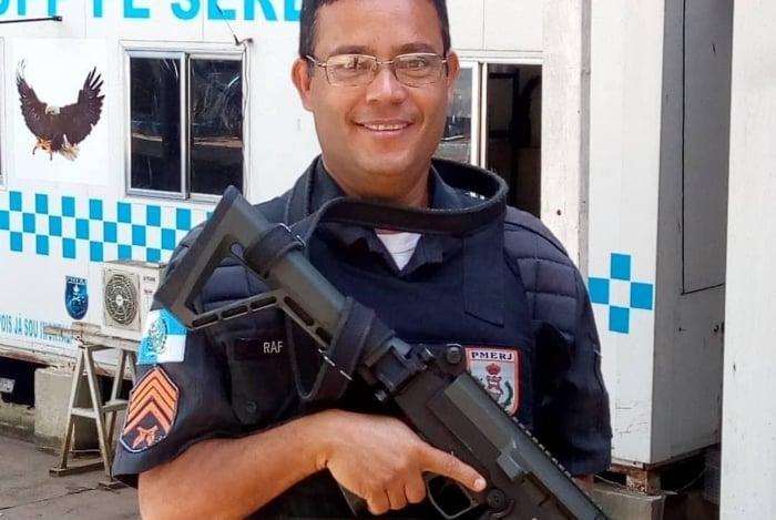 O PM Rafael Soares de Campos