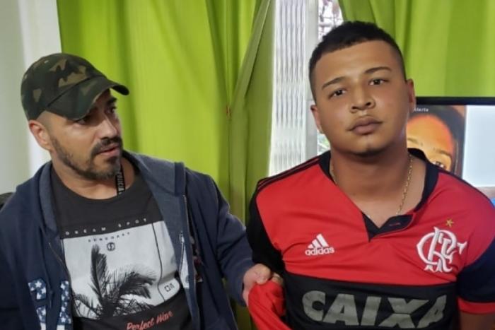 Guety da Viradouro, assaltante de residências de luxo em Niterói, foi preso na casa da avó da namorada