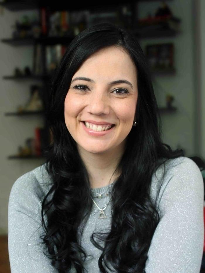 Frini Georgakopoulos, editora de aquisições da Editora Arqueiro
