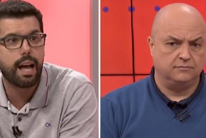 Bruno Formiga e André Henning bateram boca durante o programa