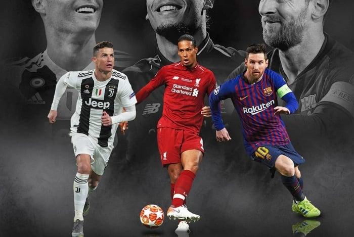 Indicados para o prêmio de melhor jogador do mundo da Fifa