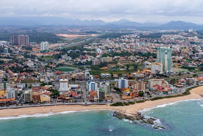 Vista aérea da cidade de Macaé