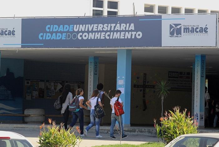 Cinco mil estudantes frequentam a Cidade Universitária, que concentra os campi da UFF, UFRJ, UERJ e da Faculdade Municipal Miguel Ângelo da Silva Santos