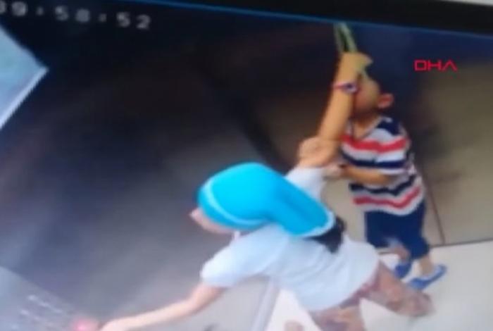 Menino cinco anos fica preso por corda em elevador e quase se enforca