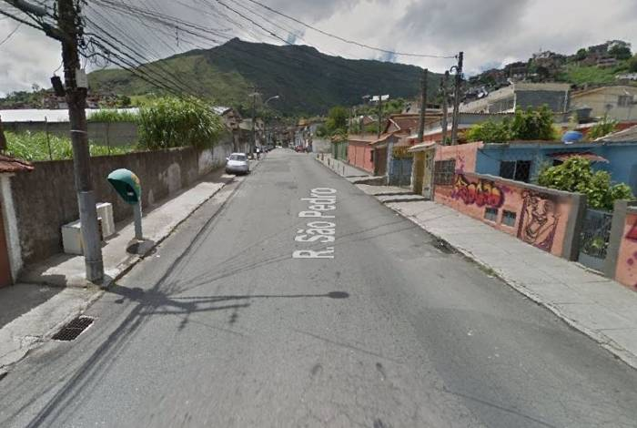 PM matou o tio a tiros no bairro São Pedro (foto), em Teresópolis