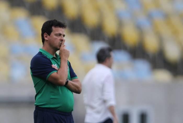 Fernando Diniz, treinador do Fluminense